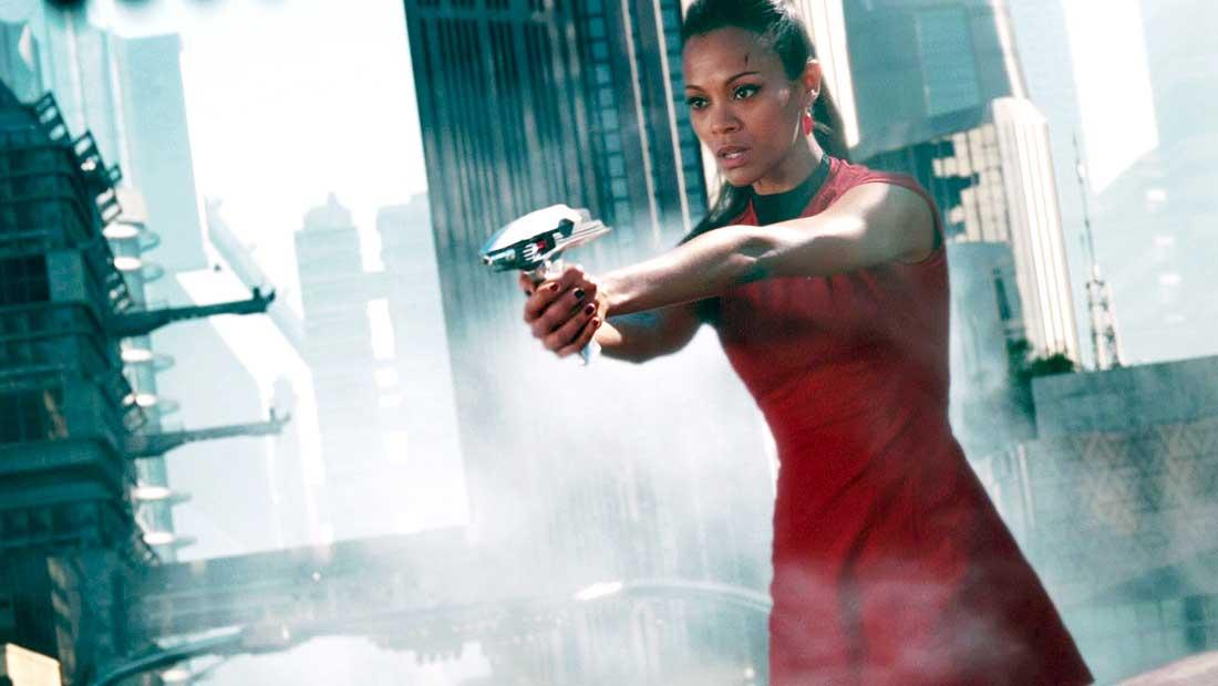Zoe Saldana Back On Set For Star Trek Beyond Shoots