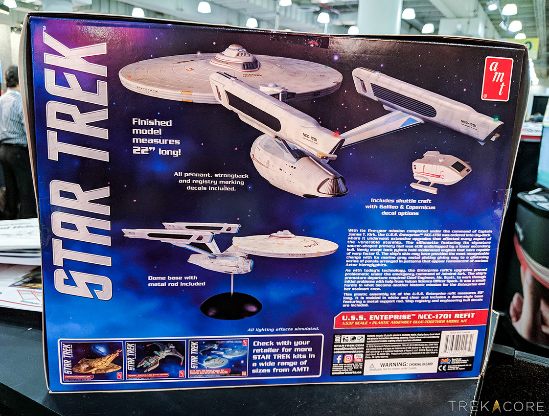 Toy Fair 2018: Round2 Reveals New STAR TREK Model Kits
