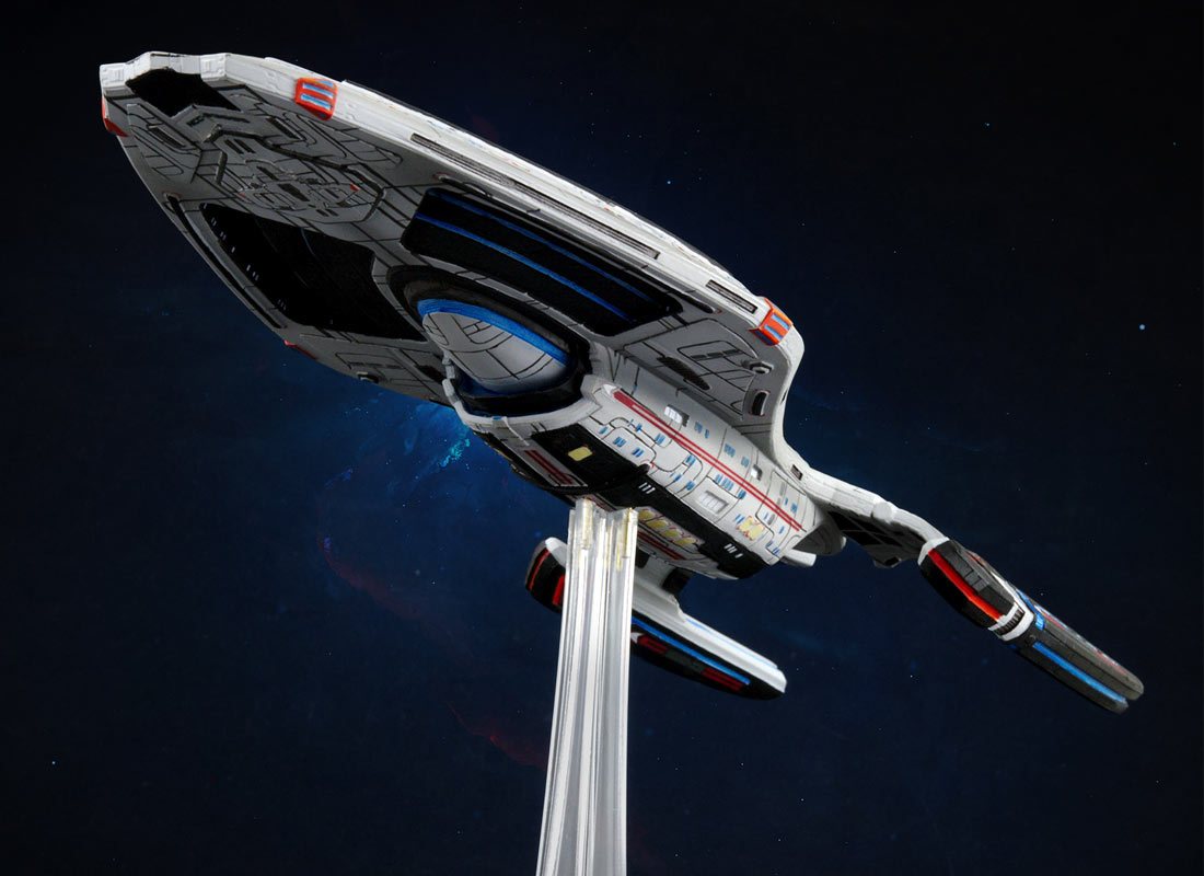 STAR TREK ONLINE Launching 3D Printed Ship Models • TrekCore com