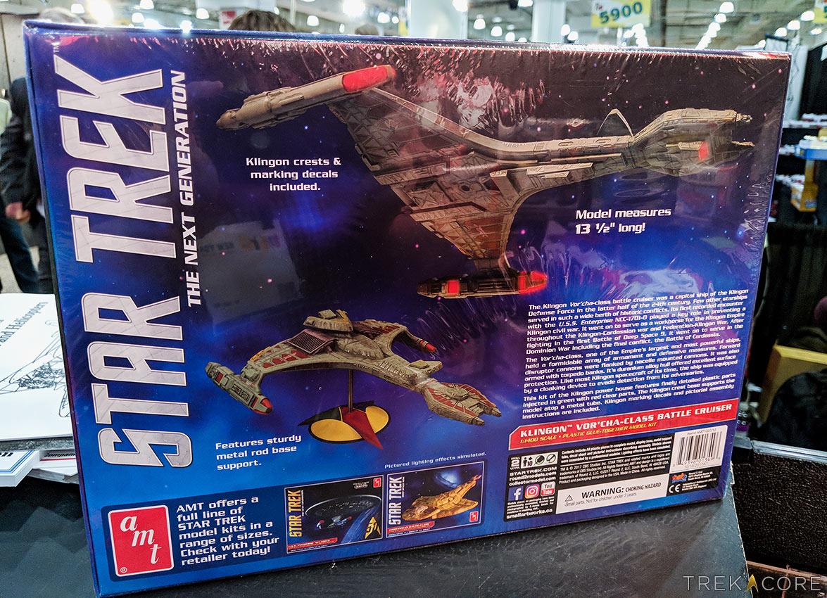 Toy Fair 2018: Round2 Reveals New STAR TREK Model Kits