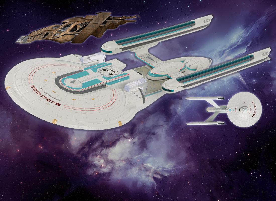 Eaglemoss Reveals Several More Star Trek Ship Models Trekcore Com