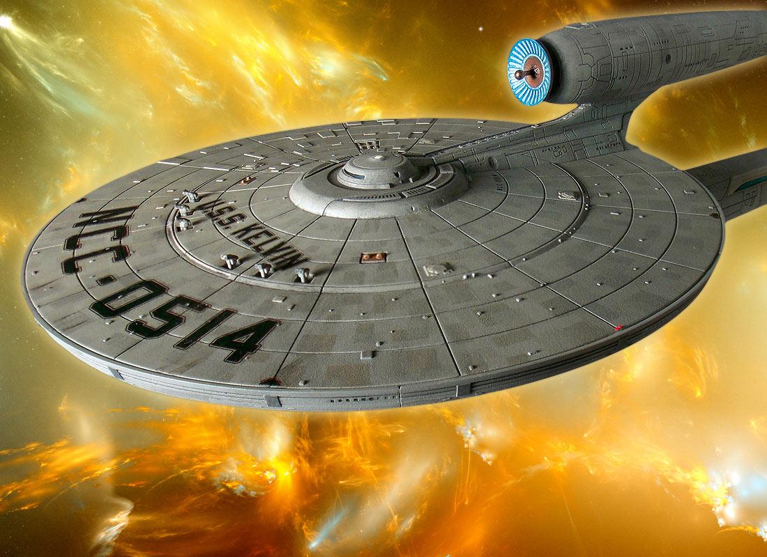 Moebius Models Adds USS KELVIN to STAR TREK Fleet • TrekCore com