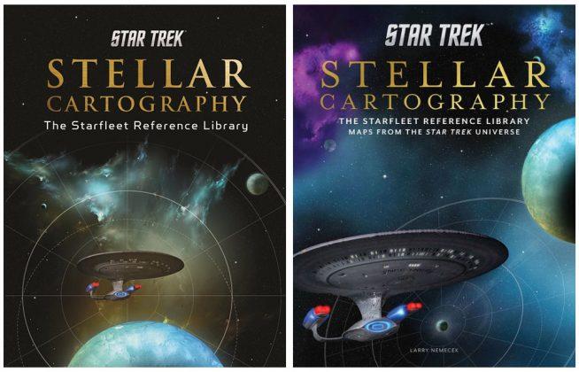 Livre Star Trek Carte stellaire
