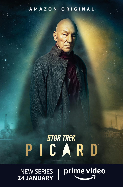 STAR TREK: PICARD Character Posters Debut in London