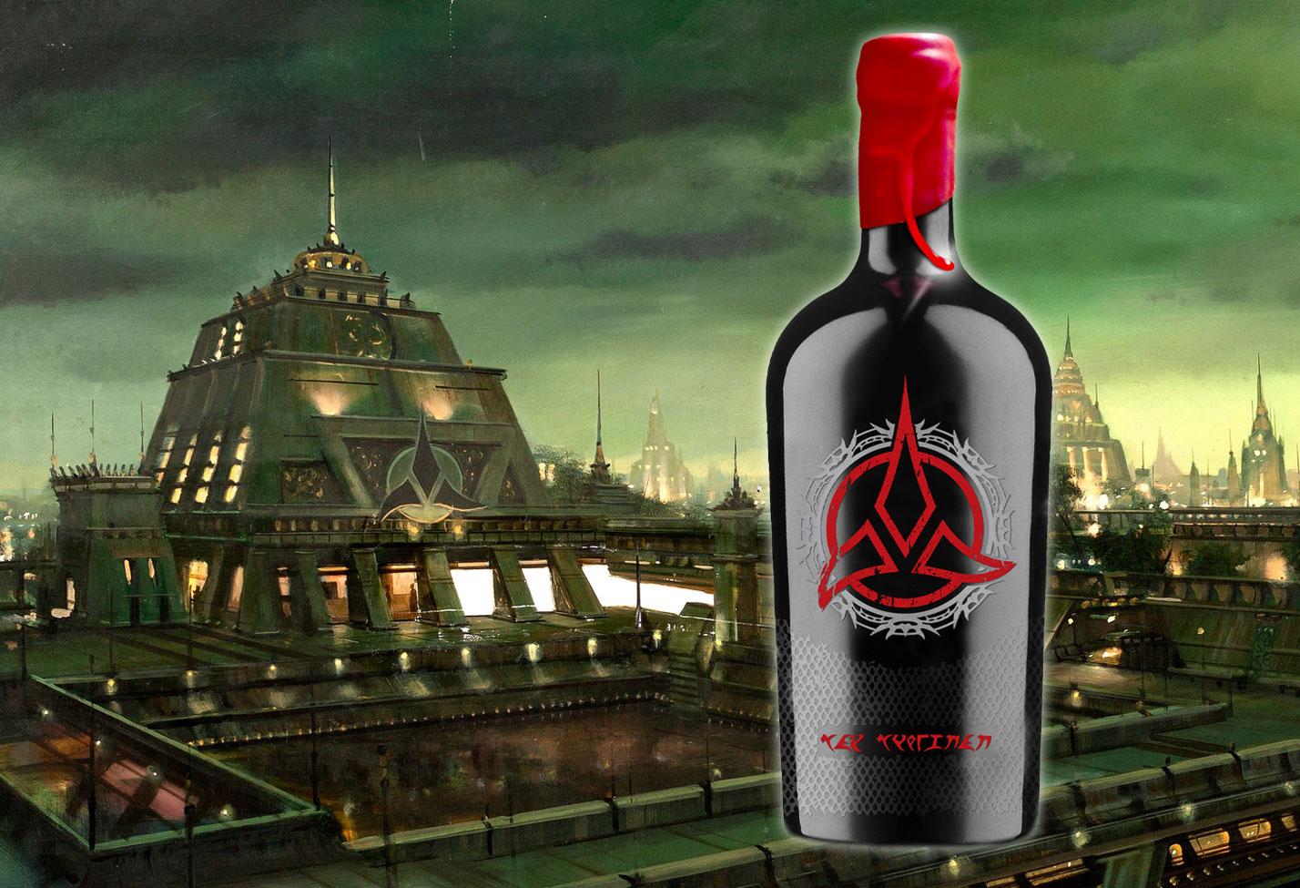 Star Trek Wines Returns With Klingon Bloodwine In 2020 Trekcore Com