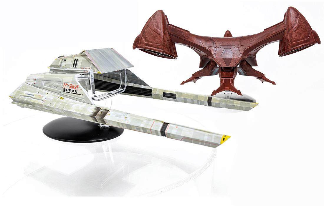 REVIEW: Eaglemoss Vulcan STAR TREK Starship Specials • TrekCore.com