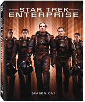 Enterprise Season 1 Blu-Ray Artwork