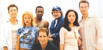 The cast of Star Trek Enterprise