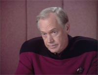 "Ronny Cox as Jellico in TNG's ""Chain of Command"""