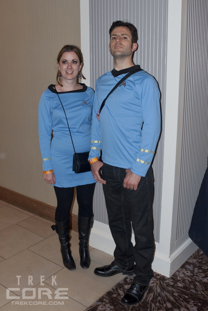 There were also some unexpected surprises u2013 this couple came as intricately-dressed Barkonians from the seventh-season TNG episode u201cThine Own Selfu201d.  sc 1 st  TrekCore & Star Trek Chicago 2013: Creative Convention Costumes | TrekCore Blog