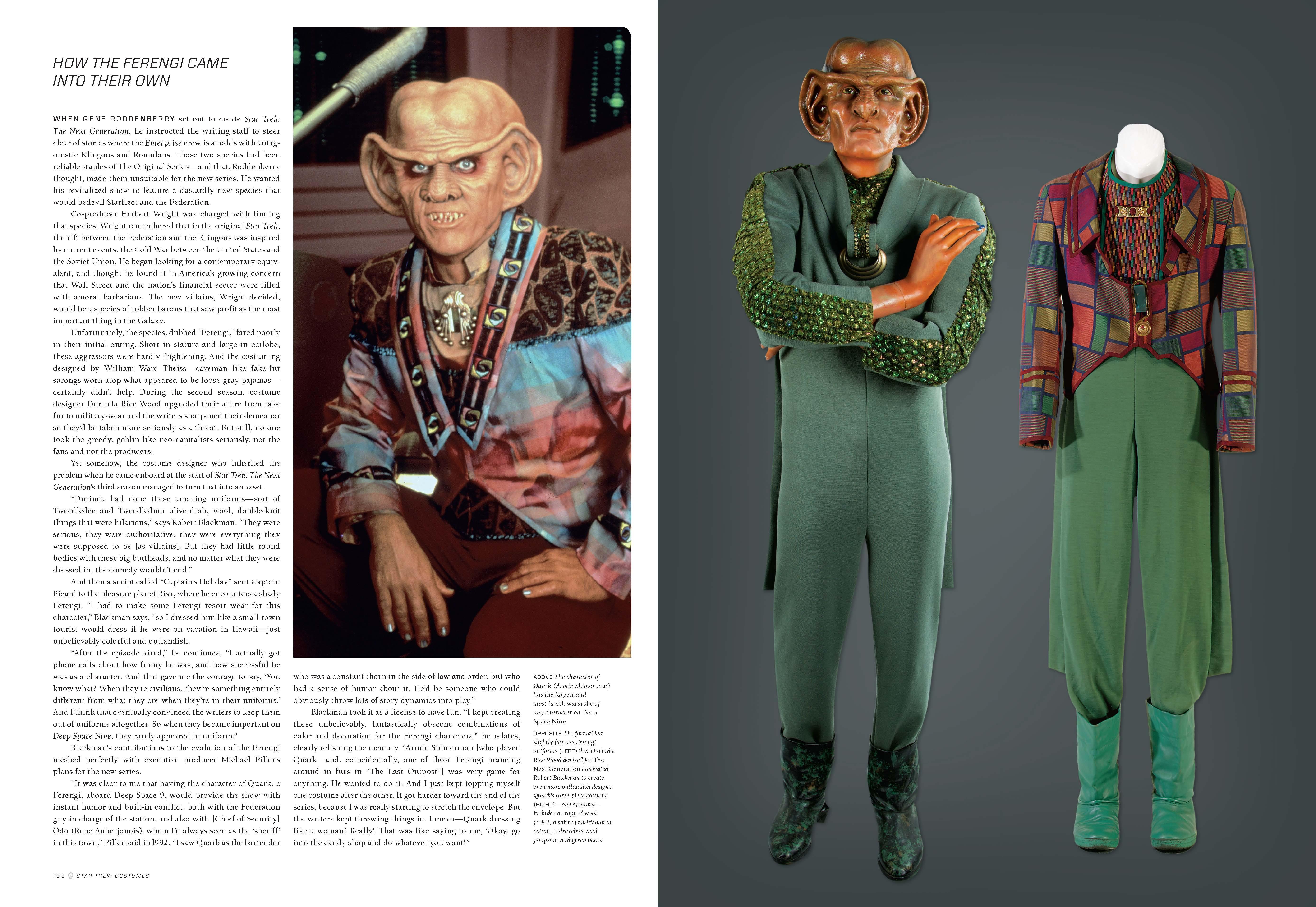 ferengi Ferengi fashion stands tall in u0027Star Trek Costumesu0027 ...  sc 1 st  TrekCore & Trek Fashion in Print: Talking u0027Star Trek Costumesu0027 with Authors ...