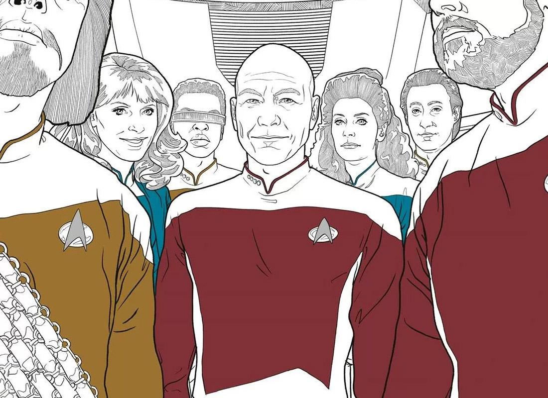 more dark horse star trek coloring books in 2017 - Star Trek Coloring Book