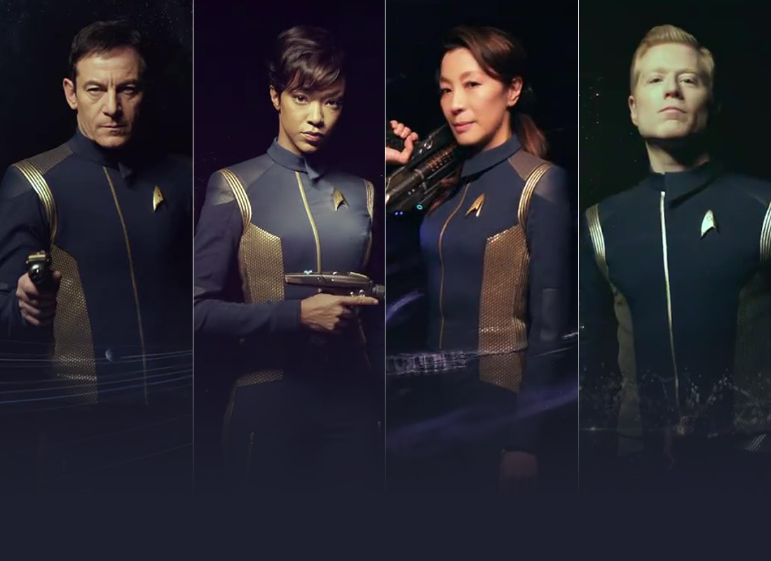 Solo STAR TREK: DISCOVERY Cast Promos Debut Online | TrekCore Blog