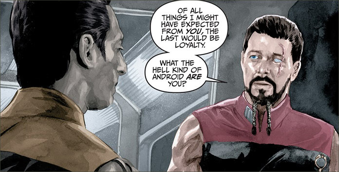 Trek Comics Review: TNG - MIRROR BROKEN #3 • TrekCore com