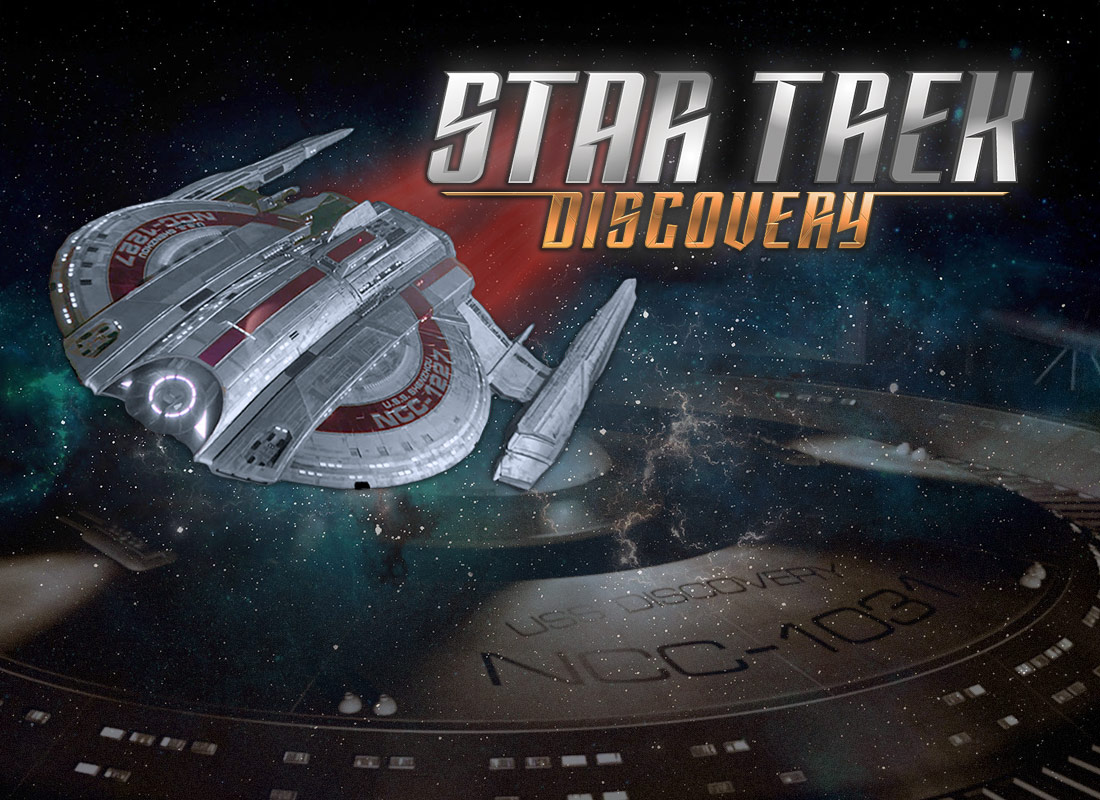 First Wave Of Eaglemoss DISCOVERY Starships Revealed