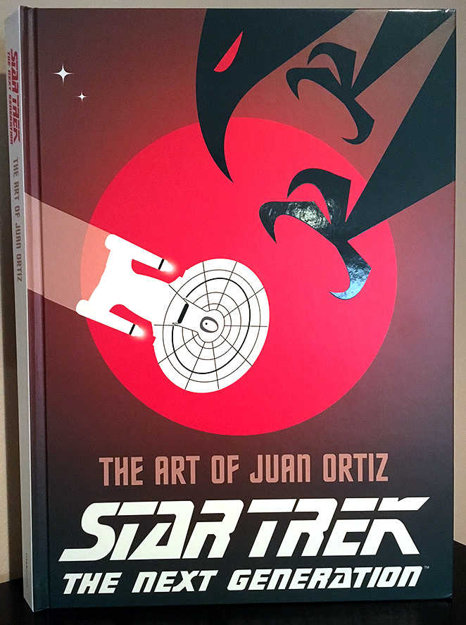 In Reviewing The Star Trek Art Created By Juan Ortiz Where Do You Even Begin His Work Is Simply Transcendent Criss Crossing Disparate Artistic Styles