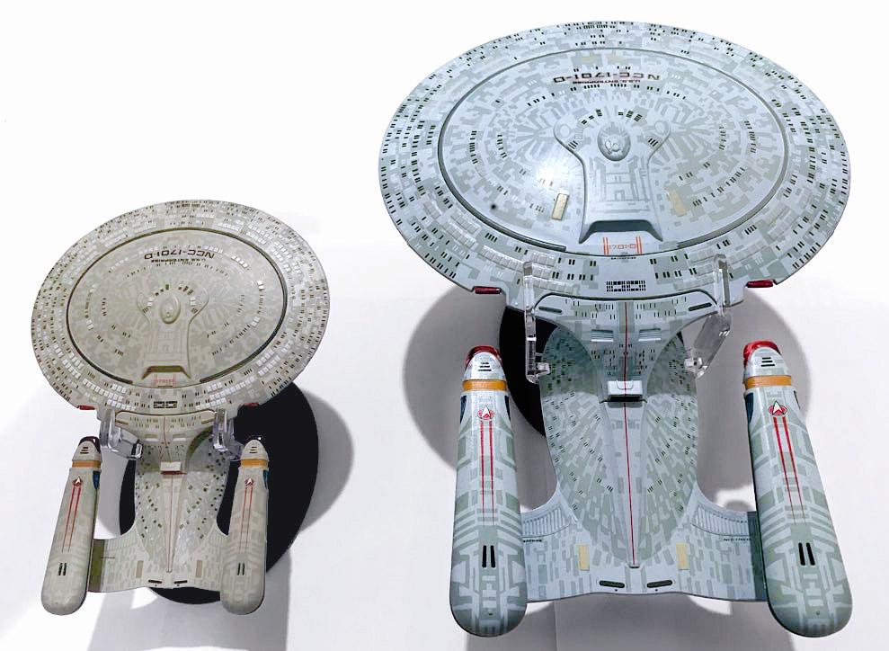 by Eaglemoss Star Trek Diecast Modell Starships Collection USS Enterprise NCC-1701-D