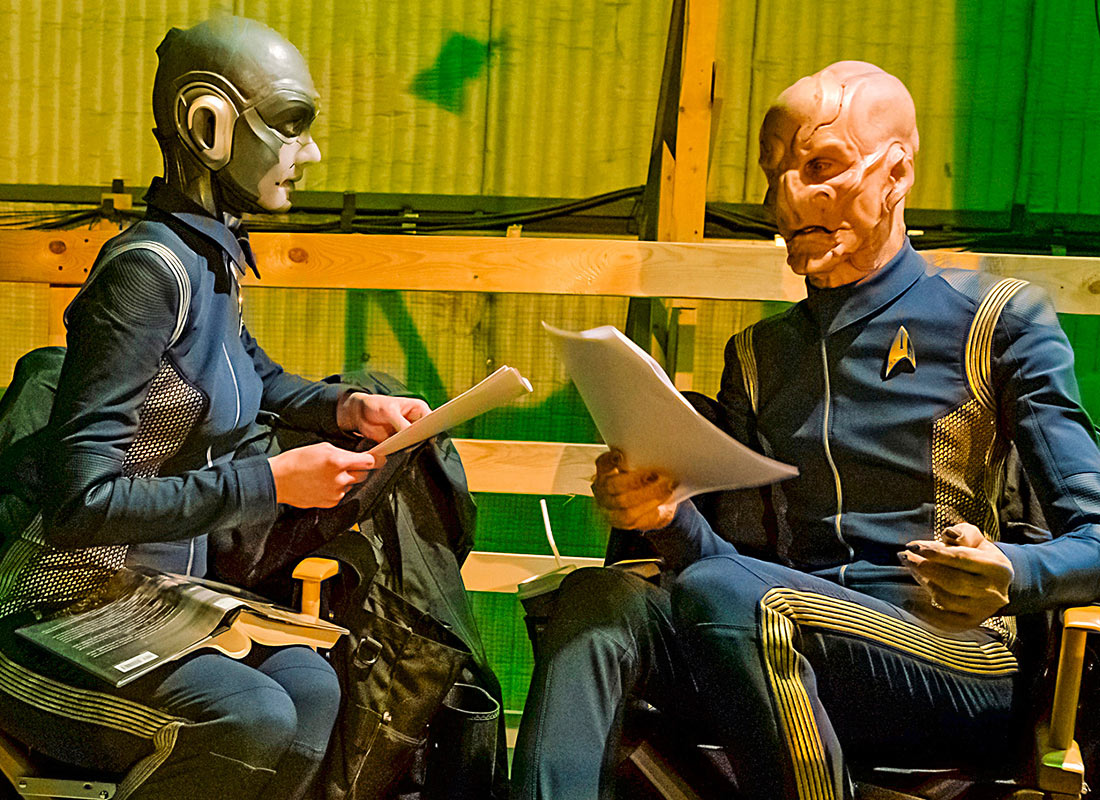New STAR TREK: DISCOVERY Behind-the-Scenes Photos, Russo Soundtrack Preview Released | TrekCore Blog