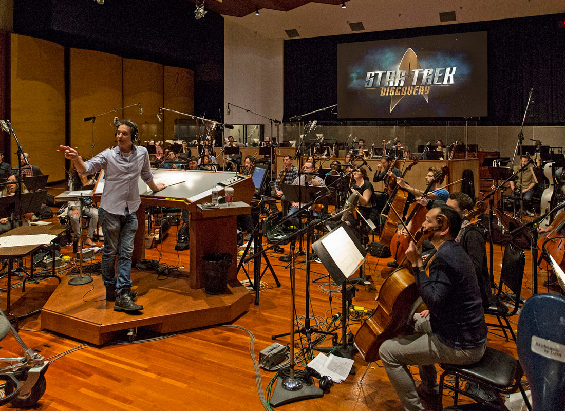 Jeff Russo on Bringing Back the Classic STAR TREK Theme | TrekCore Blog