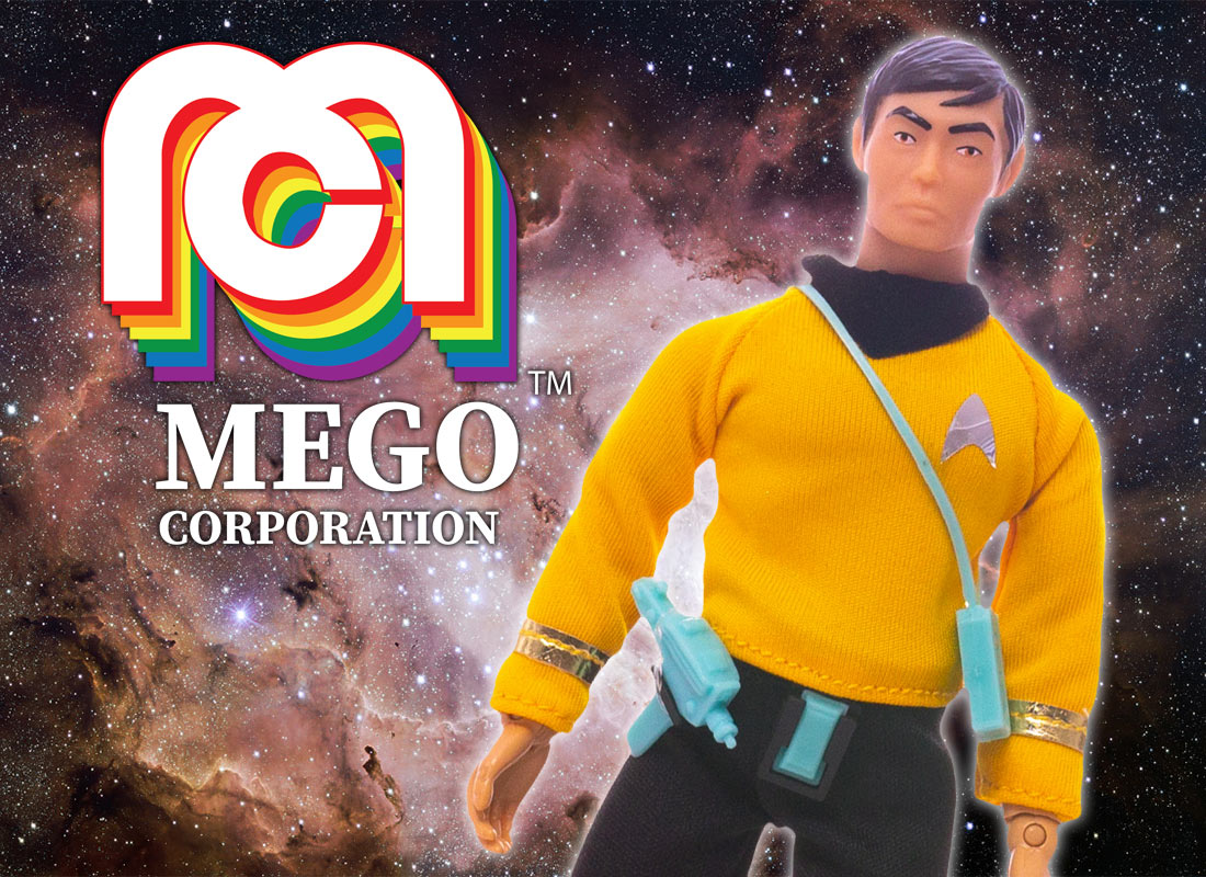 Classic STAR TREK Toy Company Mego Returns in 2018 | TrekCore Blog