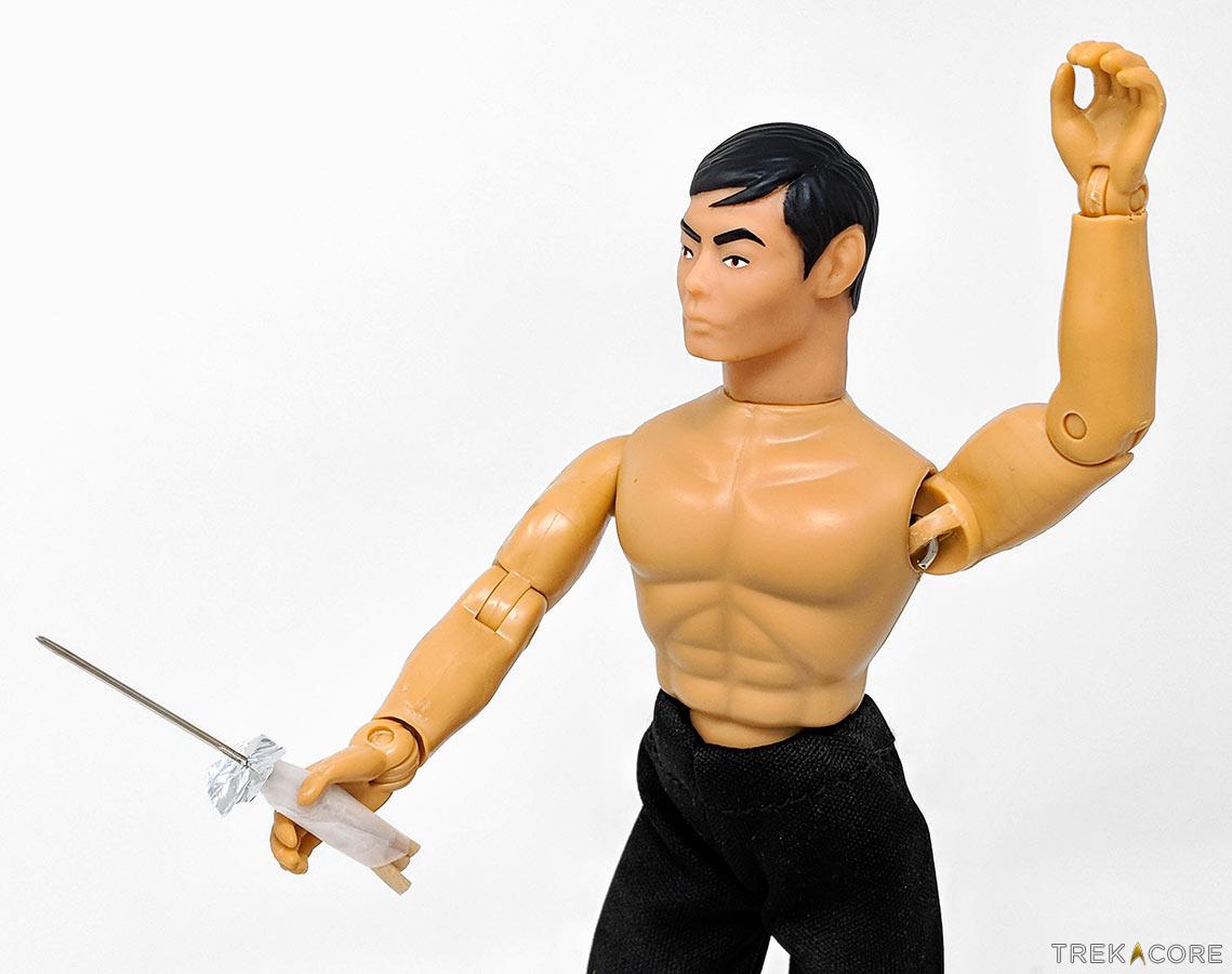 FIRST LOOK: Mego's New Lt  Sulu STAR TREK Retro Figure | TrekCore Blog
