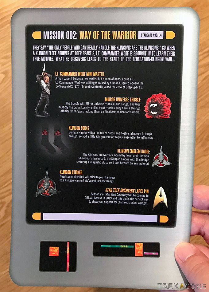 REVIEW: 'Star Trek Mission Crate' Box 2 (Little, Too Late