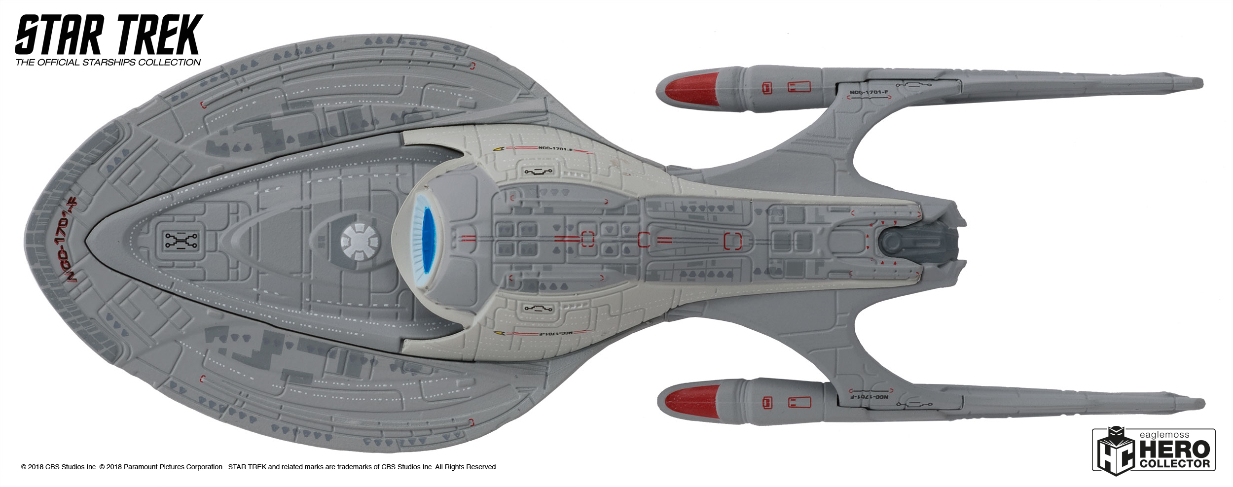 STAR TREK: DISCOVERY USS Enterprise and More Eaglemoss ...