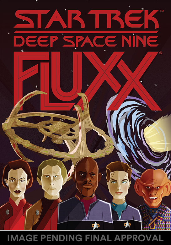 STAR TREK FLUXX Card Game Expands with DS9 Edition • TrekCore com