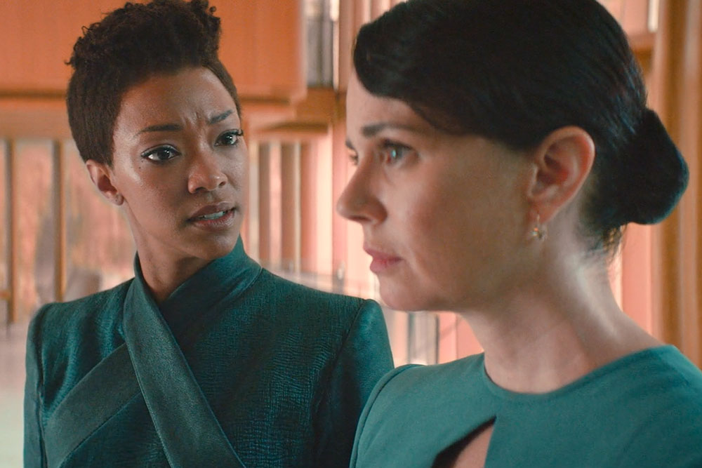 STAR TREK: DISCOVERY Review -- 'Light and Shadows