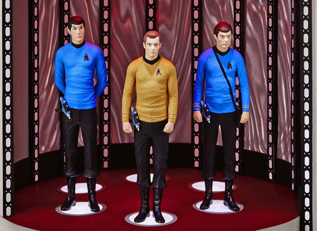 Star Trek Christmas Ornament 2019 2019 Hallmark STAR TREK Keepsake Ornaments Debut • TrekCore.com