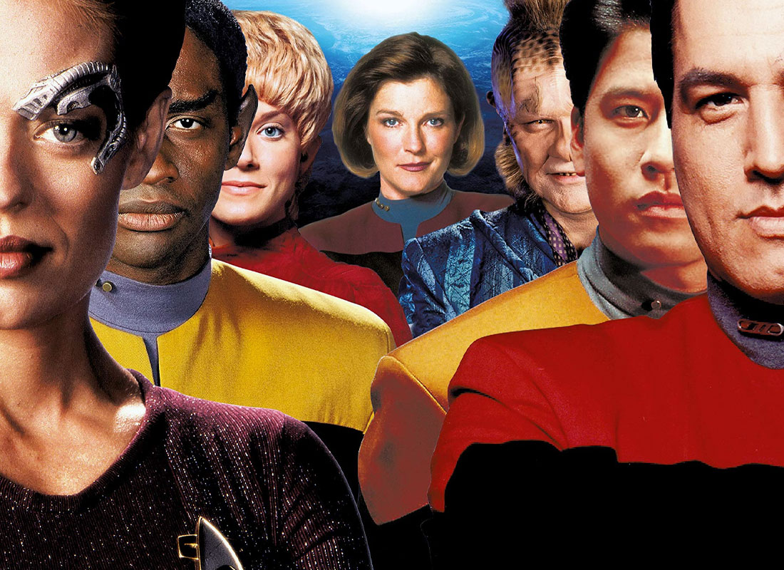 STAR TREK: VOYAGER Documentary Fundraiser Launches, Warps Past $175k Raised in First Few Hours • TrekCore.com