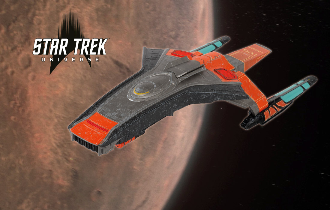 FIRST LOOK: September's New Additions to Hero Collector's Official STAR TREK Starships Collection • TrekCore.com